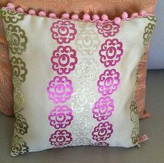 Moroccan bobble cushion
