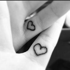 Friendship Tattoos like a pinky promise @Yazmin Wickham Wickham Flores @Anna Totten Totten Riddlehoover
