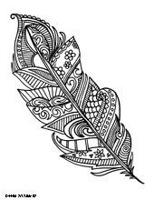 Feather coloring books, adult coloring pages, printable coloring pages, free coloring, coloring Adult Coloring Pages, Mandala Coloring Pages, Colouring Pages, Printable Coloring Pages, Coloring Sheets, Coloring Books, Doodle Coloring, Mandalas Drawing