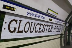 Gloucester Road Station - UK