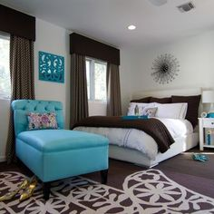 Contemporary Home Tween Girls Bedroom Design, Pictures, Remodel, Decor and Ideas - page 17