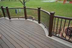 This beautiful deck and railing was built by TrexPro Warner's Decking in Naperville, Illinois! Visit http://www.trex.com/find-a-contractor/ to find a local contractor in your area.