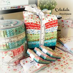 #showmethemoda #coledalefabric #fabricDesign Fabric Design, Gift Wrapping, Quilts, Gift Wrapping Paper, Wrapping Gifts, Quilt Sets, Log Cabin Quilts, Gift Packaging, Quilting