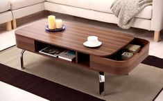 70 Incredibly Unique Coffee Tables You Can Buy! Discover heaps of unique coffee tables. We have compiled an epic list of cool and creative coffee tables for a unique living room. Check it out Today! Coffee Table Plans, Coffee Table With Drawers, Unique Coffee Table, Rustic Coffee Tables, Coffe Table, Creative Coffee, Coffee Table Storage, Coffee Ideas, Wood Table Design