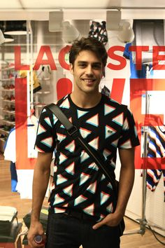 Juan Guilera @ Lacoste L!VE Music & Art Session in Buenos Aires, Argentina. Spanish Men, Pretty Shoes, Lacoste, Style Fashion, Guys, Live, Celebrities, Music, People