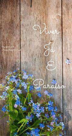 Viver já é paraíso