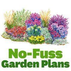 Thanks to these ultraeasy, no-fuss plans, you can have a gorgeous garden with less work!