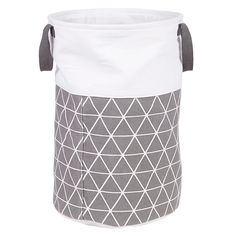 House By John Lewis Isometric Laundry Bin