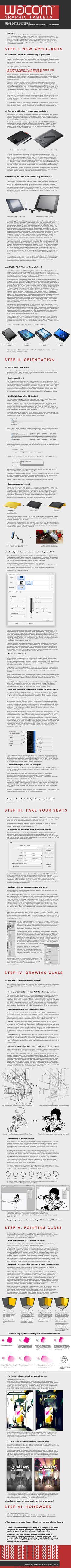 Wacom Starters Guide 2011 by fox-orian.deviantart.com on @deviantART