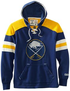 NHL Buffalo Sabres CCM Pullover Hoodie, Large