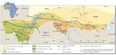 Milieux naturels au Mali et au Niger