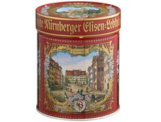 Lebkuchen Schmidt | Elisen Tin ck I think this is like the tin Mom gave me, it had cookies and a music 'box' inside...she loved music boxes and especially the lovely melodies in these.