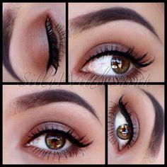 @SillyWittleSarah wearing Elegant Lashes #514 Black Premium 100% Natural Human Hair False Eyelashes