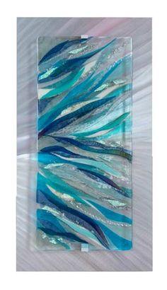 Shattered Glass art Ideas - How To Do Beach Glass art - - - - Sea Glass art Christmas Broken Glass Art, Sea Glass Art, Glass Wall Art, Stained Glass Art, Mosaic Glass, Shattered Glass, Modern Sculpture, Sculpture Art, Glass Fusion Ideas