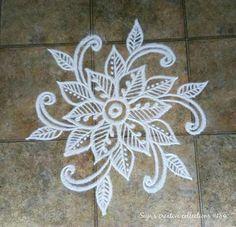 Rangoli Borders, Rangoli Border Designs, Rangoli Patterns, Rangoli Ideas, Rangoli Designs Images, Kolam Rangoli, Flower Rangoli, Beautiful Rangoli Designs, Mehandi Designs