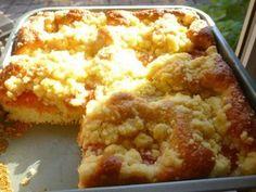 "placek,""gâteau"" polonais Pozole, Pan Dulce, Tamales, Thermomix Desserts, Dessert Recipes, Dessert Pots, German Cake, Sweet Cooking, Cake & Co"