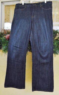 Women's NYDJ Tummy Tuck Boot Cut Classic Rise Jeans 16 Classic Mom Jeans Stretch #NYDJTummyTuck #BootCut