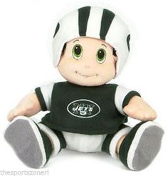 """New York Jets 12"""" Plush Stuffed Mascot Visit our store for more: www.thesportszoneri.com"""