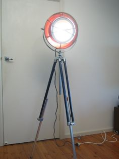 1960′s Vintage Industrial Floor Lamp   Lamp Design Ideas