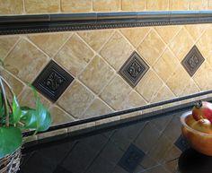 Installation Shots - traditional - kitchen tile - san diego - Saint-Gaudens Tile