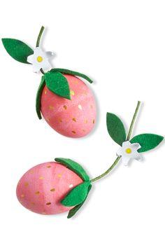 Strawberry Easter Eggs