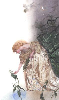 "My illustration to the tale Andersen ""Wild swans"". I am Illarionova Nadezhda, artist-schedule-illustrator-art teacher-designer. I'm from Russian Federation. My contacts: n.illarionova@mail.ru"
