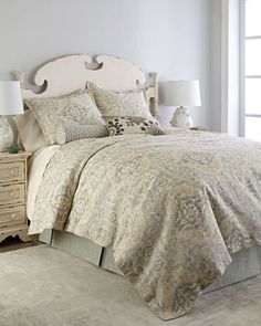 Pasha+Bedding+by+Legacy+Home+at+Neiman+Marcus.
