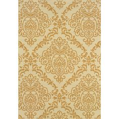 Shop Joss & Main for your Tanya Indoor/Outdoor Rug. Enhance your living room or den with the beauty and softness of this Charlton Home Ivory/Gold Floral Indoor/Outdoor Rug.