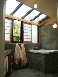 Asian Bathroom Design Ideas, Pictures, Remodel and Decor