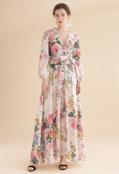0dc02bb1bd12 Only In Dreams Floral Button Down Maxi Dress - NEW ARRIVALS - Retro, Indie  and