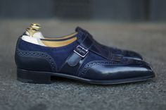 DOUBLE MONK — EG MTO Henley This stunning shoe from Edward...