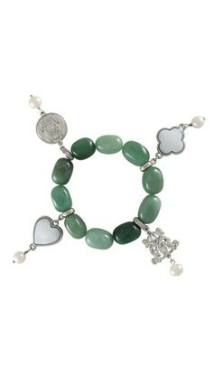 Dara Loft - Bowerhaus - Lucky Bracelet - Jadeite $85.00  International Shipping Available - email us for shipping quotes  sales@daraloft.com