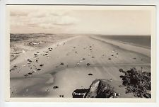 Carmarthenshire: Pendine, Sands with Cars c.1960s - Squibbs, Tenby RP PC (1505)