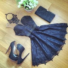 Beautiful #black #basic