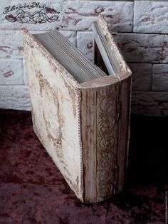 """Купить Шкатулка """"Старинная книга в кожаном переплете"""" - шкатулка, шкатулка для украшений, шкатулка ручной работы"""