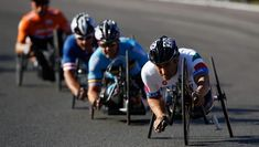 Alessandro Zanardi of Italy (R) rides in the men's Individual H 4 Road Race on Day 9 of the London 2012 Paralympic Games at Brands Hatch Judo, Rugby, 2012 Summer Olympics, Cycling News, Speed Bike, Grand Tour, Road Racing, Real Women, Bmx