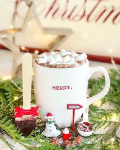 Happy Monday❤️ Hope you all have an amazing Christmas week✨🎄✨ * * * Sharing #mondaydunnyet ☕️ I had to stock up and play away with my Christmas minis before it's over🌟 * #hotcocoa #mug #monday #mondaymotivation #christmas #christmasdecor #holiday #holidays #happy #joy #merry #red #magical #9vaga_coffee9 #cups_are_love #coffeeandseasons #tv_living #shared_joy #still_life_gallery #infinity_coffeebreak #jj_coffeetime #snap_ish #miniature #instacute #instahappy #instapic マシュマロ入りココア❤️ #クリスマス…