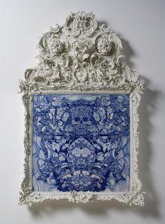 Blue - Katsuyo Aoki -  Trolldom, 2015 - ceramic  porcelain