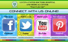 Choose from the following Social Media portals to chat, view and interact with us!
