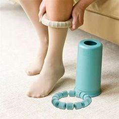 Anyone try this? EasyRoll Stocking Donner/ would make compression socks a whole lot easier