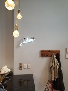 Etsy の jadore Neon Sign Ready-made by MarcusConradPoston