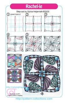 New patterns – pattern-collections.com Zen Doodle Patterns, Zentangle Patterns, Zentangle Drawings, Zentangles, Zen 2, Tangle Doodle, Black And White Lines, Pick One, Line Design