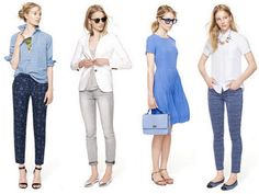 Work Wear Inspirations from J Crew