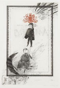 David Hockney - Royal College of Art - Diploma, 1962
