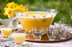 Get Sunrise Punch Recipe from Cooking Channel