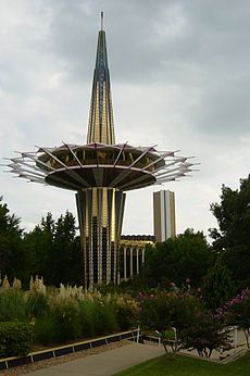 Prayer Tower at Oral Roberts Univ Tulsa