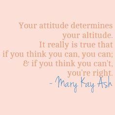 """""""Pin"""" this if you """"think you can!"""" Maria DelCastillo Sr. Mary Kay Beauty Consultant www.marykay.com/mdelcastillo  Call or Text 541-301-0138"""