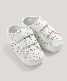 Spot Print Velcro Shoes