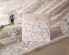 How to Plan Your Elegant Spring Wedding 2015 by Yourself Wedding Invitation Card Design, Laser Cut Wedding Invitations, Diy Invitations, Invites, Romantic Wedding Favours, Wedding Favors, Romantic Lace, Elegant Wedding, Wedding Venues