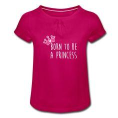 T-shirt Fille PRINCESS (divers coloris) Kids Fashion, Tops, Daughter, Cotton, Junior Fashion, Babies Fashion, Fashion Children, Kid Styles, Child Fashion